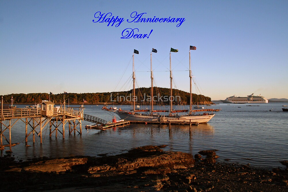 Happy Anniversary Dear! by Linda Jackson