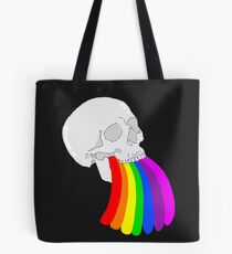 Rainbow Vomit Tote Bag