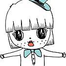 Magic Pauper Girl Sticker by LindaTieuArt