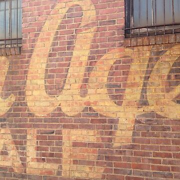 Golden Age Vintage Sign - Youngstown, Ohio by MetroStore