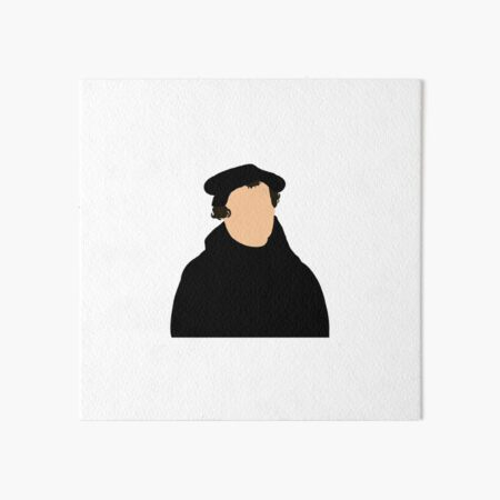 Martin Luther Art Board Print