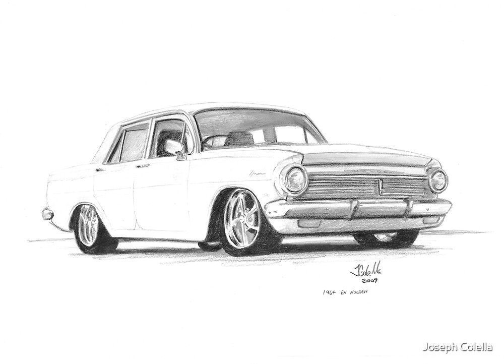 """1964 EH Holden"" by Joseph Colella 