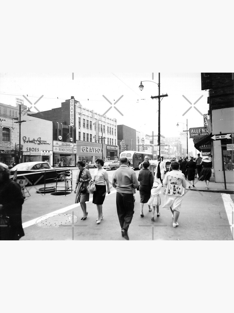 Record Rendezvous - Downtown Youngstown, Ohio, 1960s by MetroStore