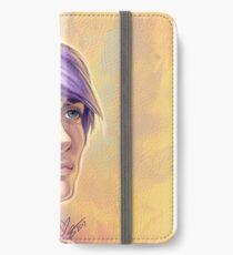 Purple iPhone Wallet/Case/Skin