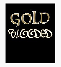 Gold Blooded Photographic Print