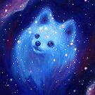 Galaxy Pomeranian by Katie Clark