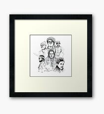 Wes Anderson Framed Print