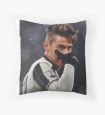 My Name Is Paulo Dybala Throw Pillow