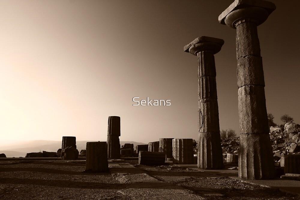 Turkish Ruins by Sekans