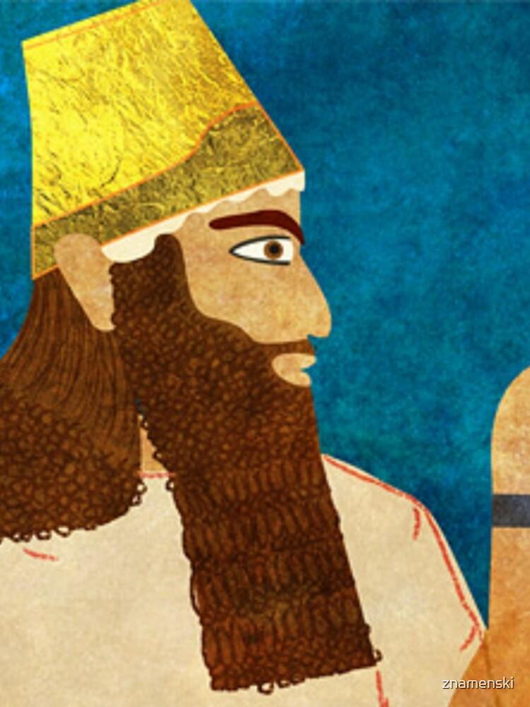 Purim, Haman Jewish, Esther, King Ahasuerus by znamenski