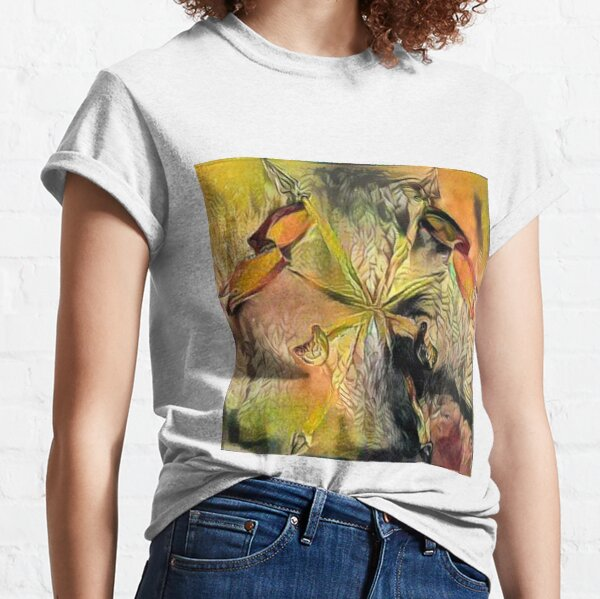 Painting, plant Classic T-Shirt