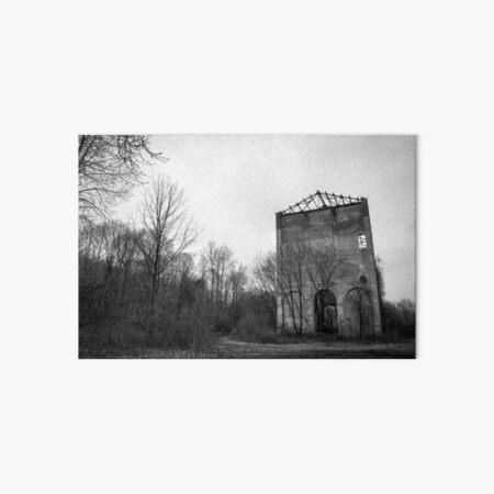 Abandoned Church of Industry Art Board Print