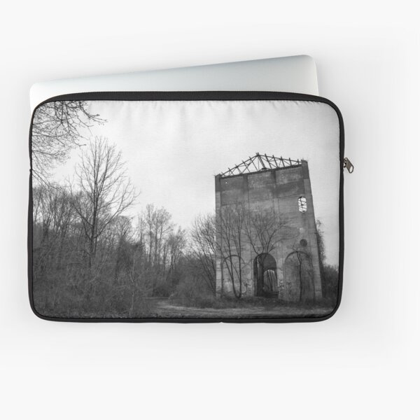 Abandoned Church of Industry Laptop Sleeve