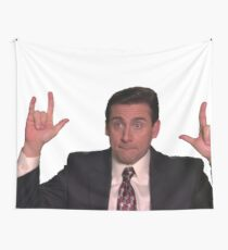 michael g scott Wall Tapestry
