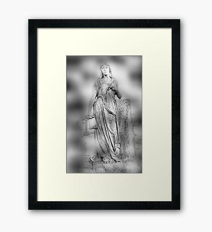 In a Monastery Garden Framed Print