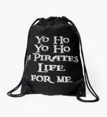 Yo ho Yo ho Drawstring Bag