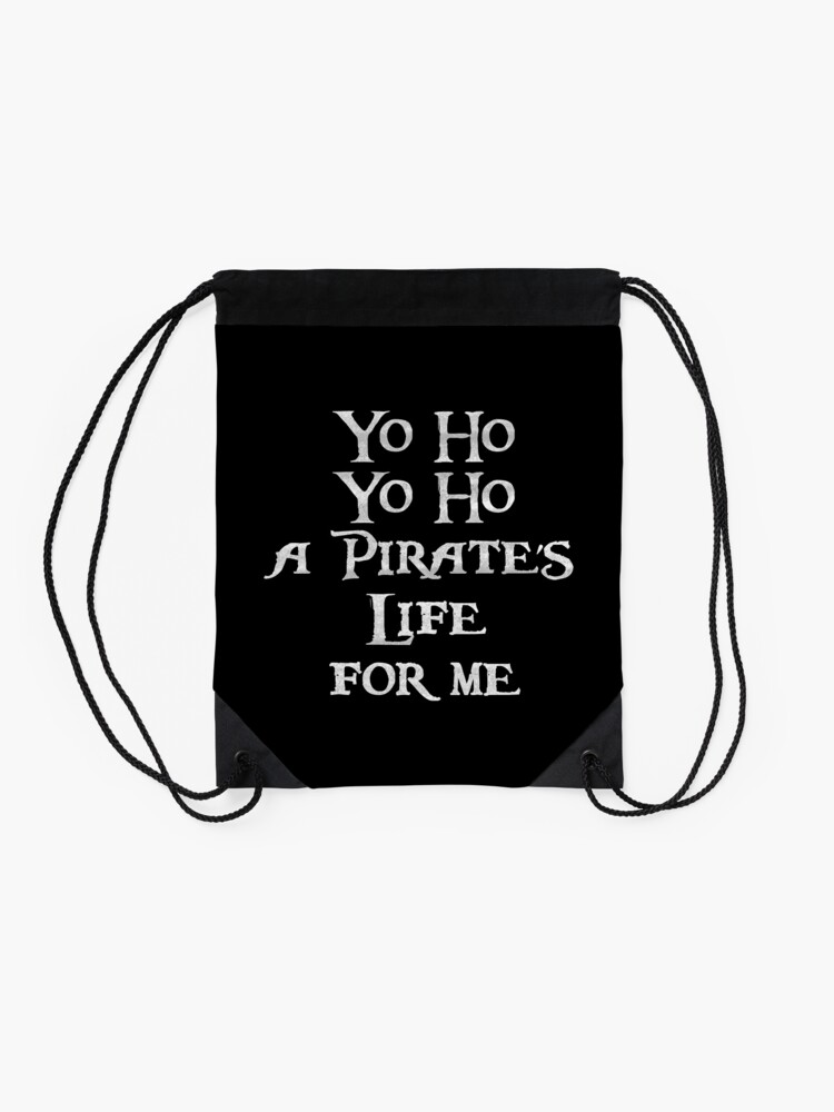 Alternate view of Yo ho Yo ho Drawstring Bag