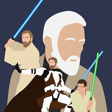 Obi Wan Kenobi - Through the Years by HTWallace