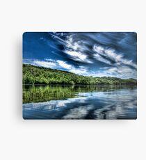 """""""Bigstone Lake"""" Metal Print"""