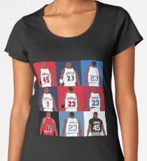 a7ce30a56c23bc Michael Jordan Grid Women s Premium T-Shirt