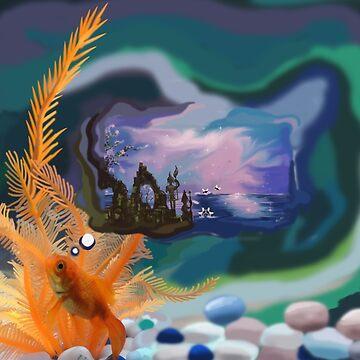 Thought Gold Fish by Nandika-Dutt