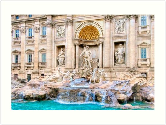Memorie di Roma - Trevi Fountain by Mark Tisdale