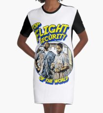 Top Flight Security of the world Graphic T-Shirt Dress