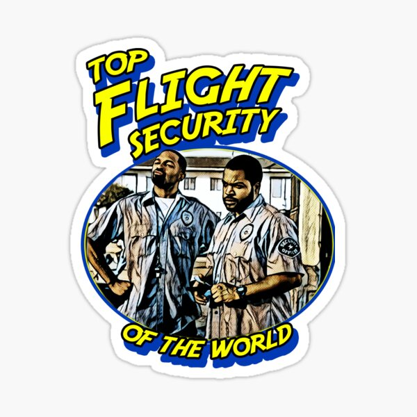 Top Flight Security of the world Sticker