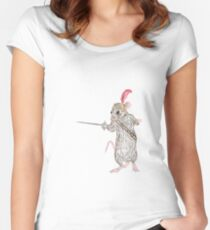 Narnia Reepicheep, the bravest of mice Women's Fitted Scoop T-Shirt