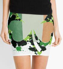 Ireland Flag Shamrock Mini Skirt