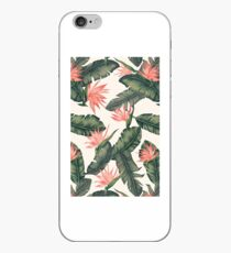 Leaves and flowers iPhone Case