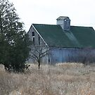 old wooden barn by Dave & Trena Puckett