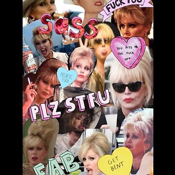Absolutely Patsy Stone Collage by comunicator