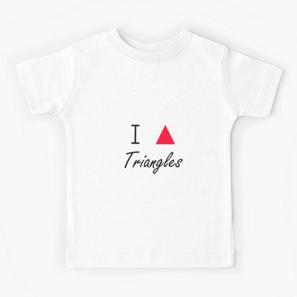 I love Triangles Kids T-Shirt