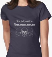Social Justice Necromancer Women's Fitted T-Shirt