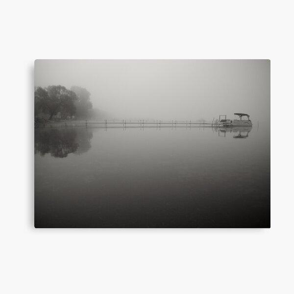 Pontoon Canvas Print