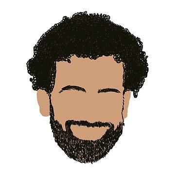 Diseño de Mo Salah - Regalo de LFC / Liverpool de ConArtistLFC