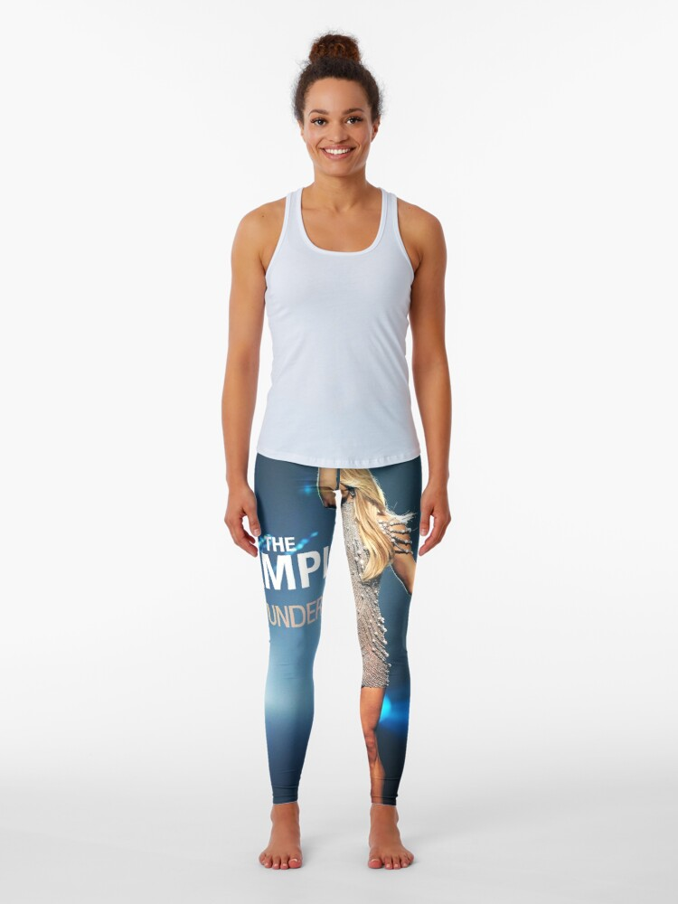 Sp06 Carrie Underwood The Champion Leggings By Scholaspaul07 Redbubble