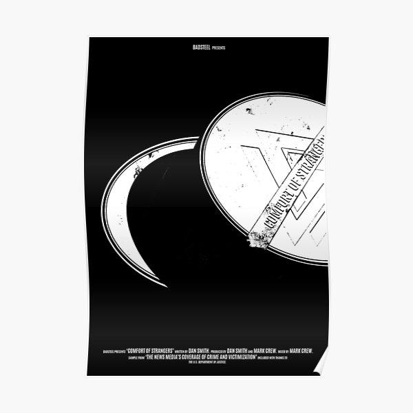 Bastille // Comfort Of Strangers - Black and White Poster