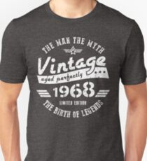 50th Birthday Gift For Men 1968 Unisex T-Shirt