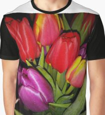Tulips of many colours Graphic T-Shirt