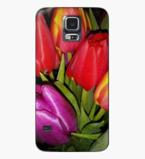Tulips of many colours Case/Skin for Samsung Galaxy