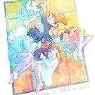 « Sangatsu no Lion - Nap in spring » par Sedeto