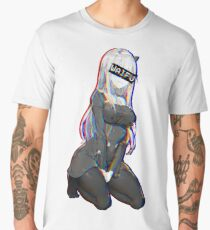 Zero Two Waifu Men's Premium T-Shirt