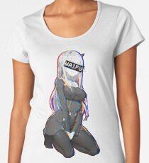 Camiseta premium para mujer Zero Two Waifu