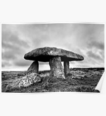 Memory Of The Land - Lanyon Quoit Poster