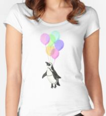 I can believe I can fly Women's Fitted Scoop T-Shirt