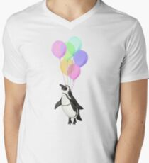 I can believe I can fly Men's V-Neck T-Shirt