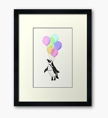 I can believe I can fly Framed Print