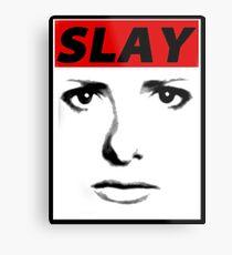 Buffy - Slay Metal Print